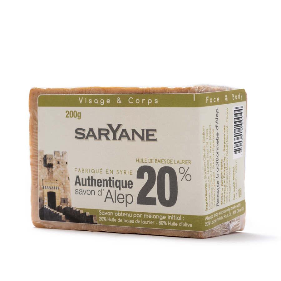 Traditional Aleppo soap 20%