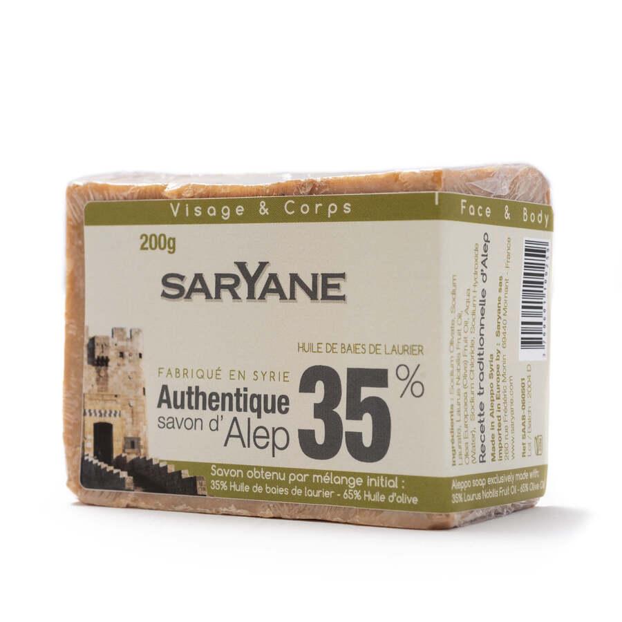 Traditional Aleppo soap 35%