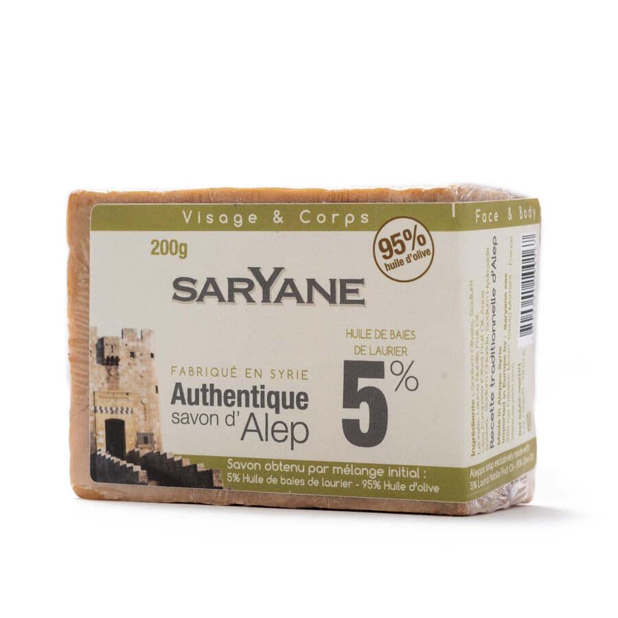 Traditional Aleppo soap 5%